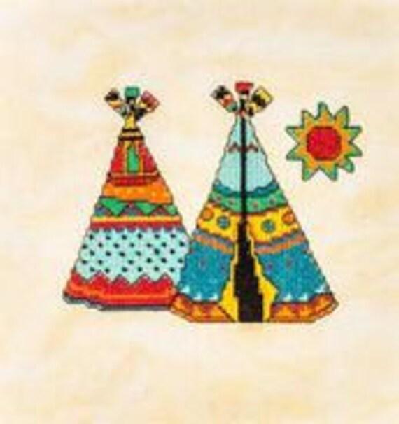 Kooler Design Studio Artiste Mini Teepees 1389238 14 Count Etsy
