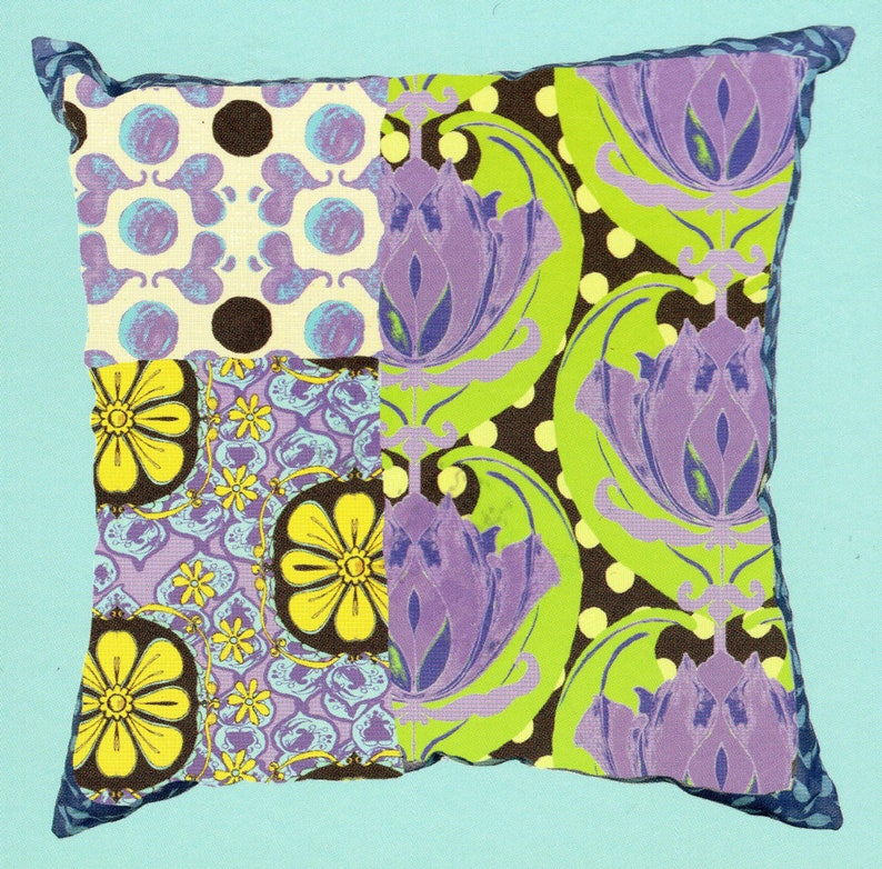 Top Drawer Sew So Simple Calipso 20 Inch Pillow 100 Percent image 0