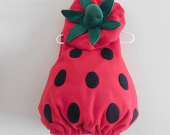 Baby Toddler Strawberry Costume