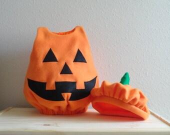 Baby Jack-o-lantern Costume