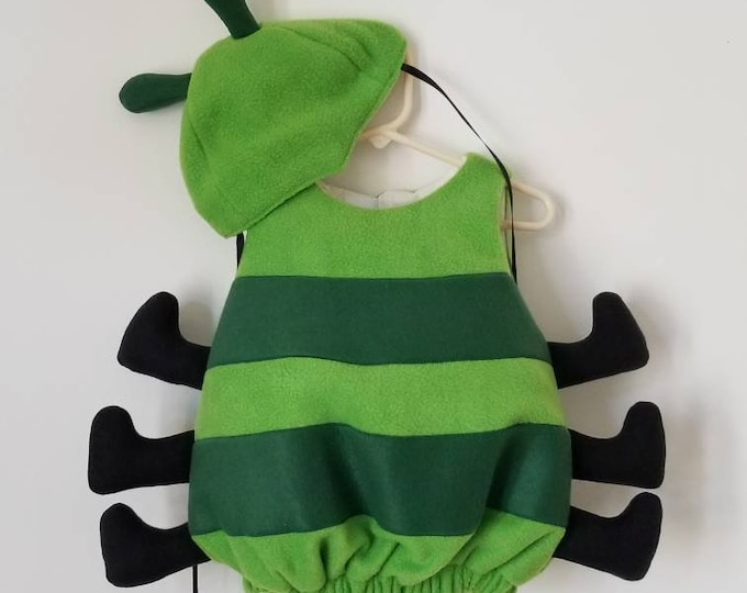 Featured listing image: Baby Caterpillar Costume