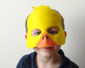 Duck Felt Mask//Free Shipping//Ready to Ship