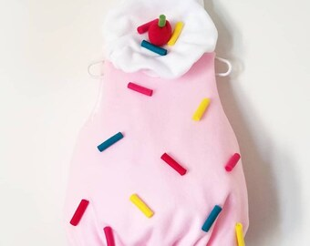 Baby Ice Cream or Cupcake Frosting Costume