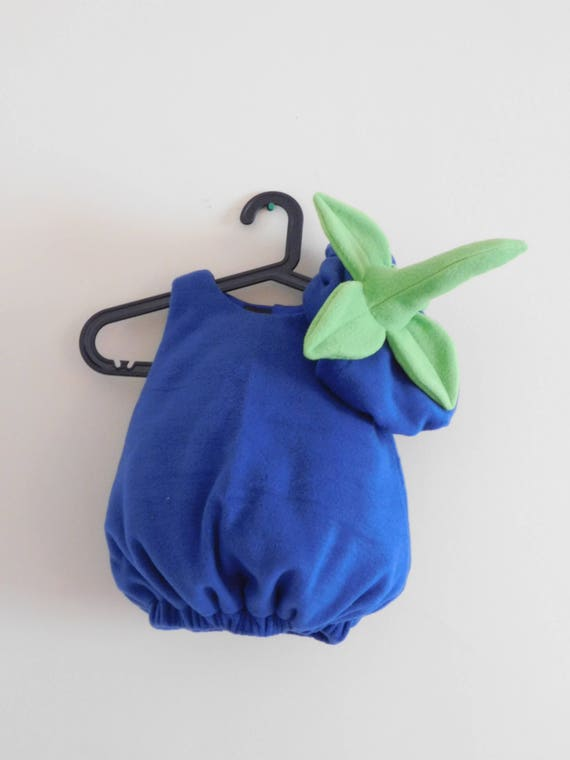 Baby and toddler blueberry costume