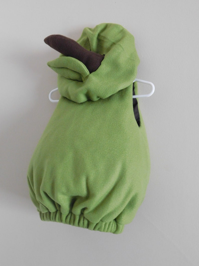 Baby and Toddler Pear Costume in felt