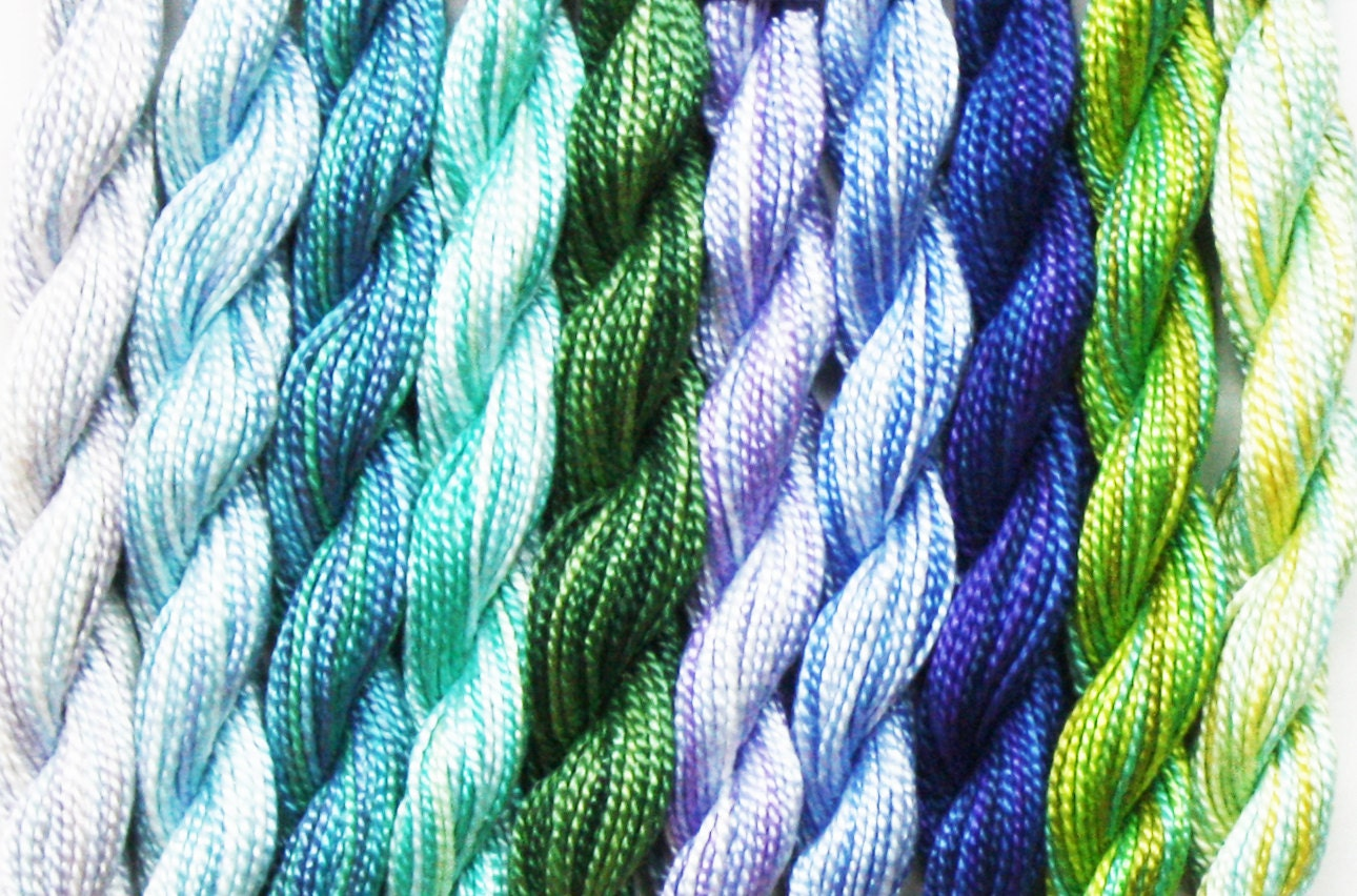 DMC Pearl Variations 2.90 Each, Pearl Color Variations, DMC Perle ...