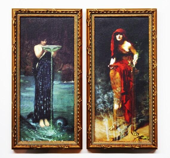 John William Waterhouse, John Collier, Pre-Raphaelite Paintings, Mystical on