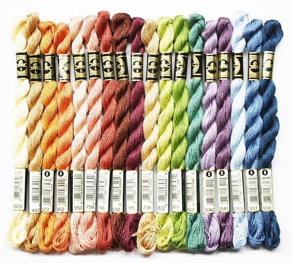/& 3 CHOOSE YOUR COLOR! DMC Perle Cotton Size 5 Skein Ball