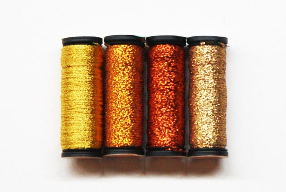 Kreinik Iron-On 18 Metallic Ribbon 3.25 Yards Red 6130