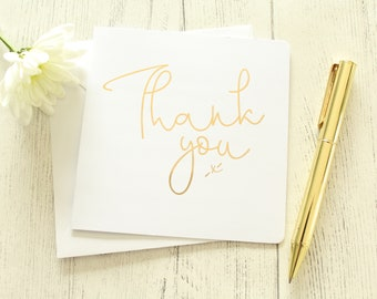 thank you cards for weddinggreeting card in goldsilverrose goldcoppercolour foils