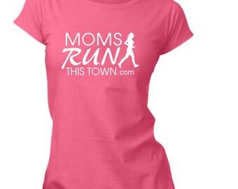 MRTT / SRTT Moms Run This Town T-Shirt Vinyl