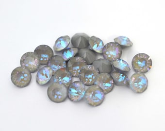 Serene Gray DeLite 39ss 1088 Xirius Chatons 8mm Swarovski Crystals - Multiple Pack Sizes Available