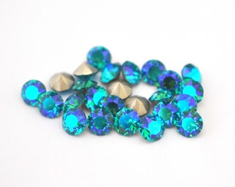 Zircon Shimmer 39ss / 8mm 1088 Chatons Barton Crystals - Multiple Pack Sizes Available