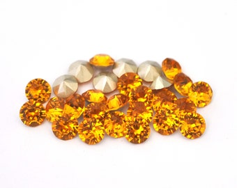 Marigold 39ss / 8mm 1088 Chatons Barton Crystals - Multiple Pack Sizes Available