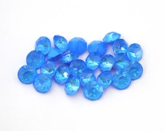 Bright Blue Delite 39ss / 8mm 1088 Chatons Barton Crystals - Multiple Pack Sizes Available