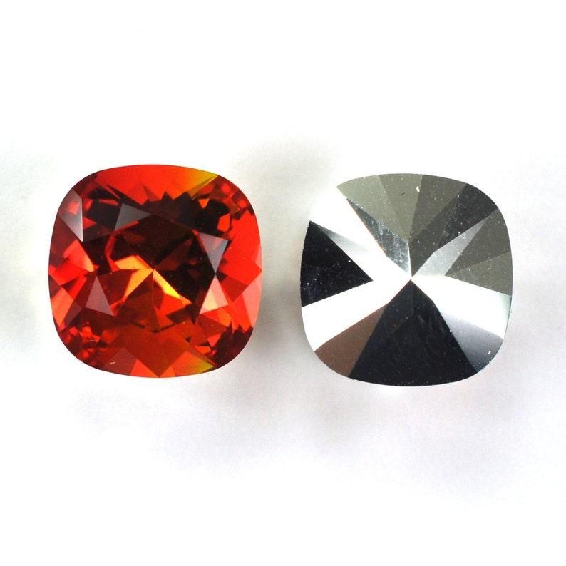 951abbf58f6db Fireopal 12mm Cushion Cut Swarovski 4470 Crystals 1 Crystal - Limited Stock