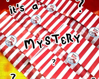 MYSTERY PIN BAG - seconds pins - goodie bag - lucky dip - best friend gift - cute gifts - mystery goodie bag - hard enamel pins