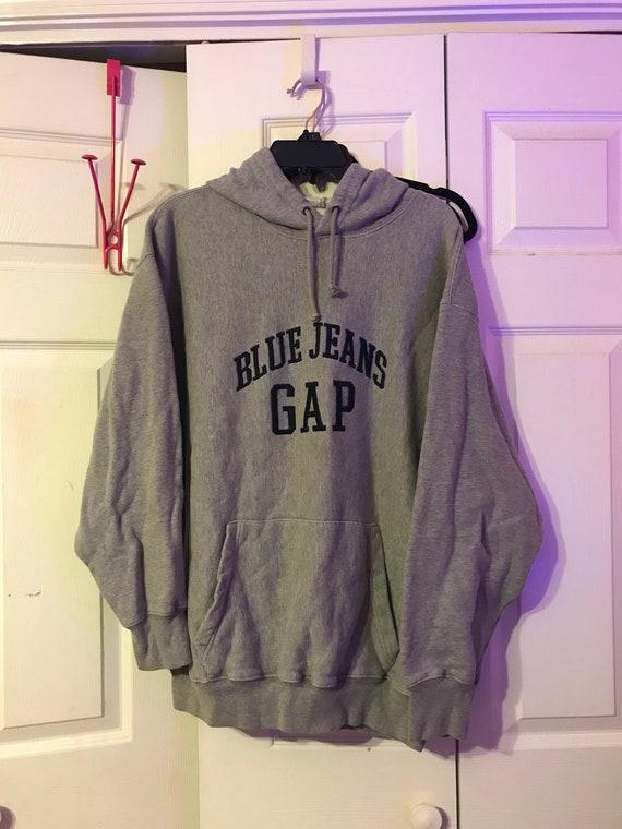 Vintage GAP Gray Hoodie