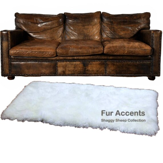 Plush Faux Fur Area Rug Runner Luxury Fur Thick Shaggy