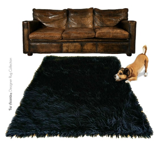 Plush Faux Fur Area Rug Luxury Fur Thick Shaggy Sheepskin