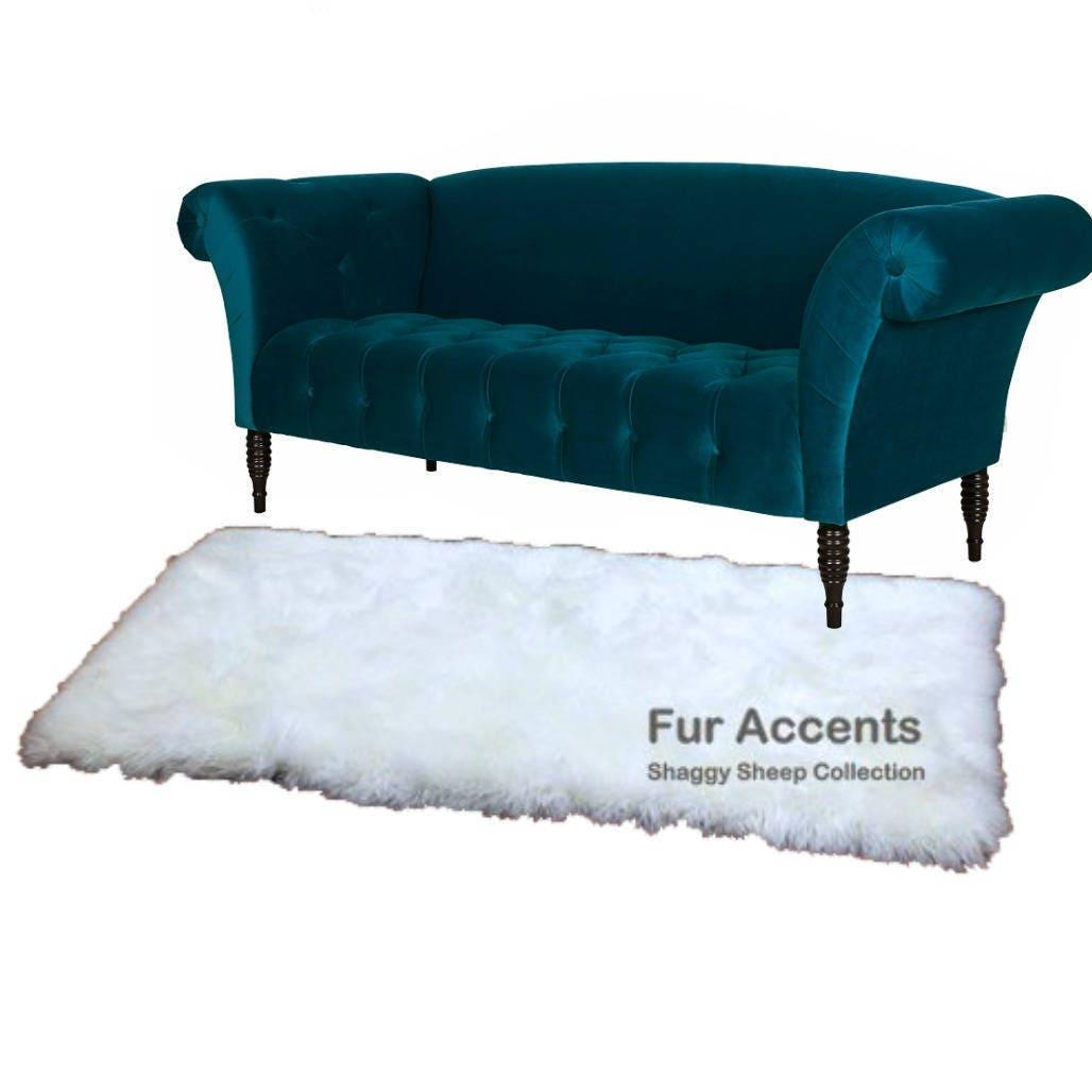 Plush Faux Fur Area Rug