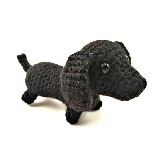 Dackel Hund Tiere häkeln häkeln Dackel Amigurumi Dackel | Etsy