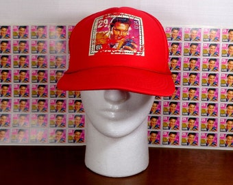 1992 Elvis Presley 29 cent POSTAGE STAMP HAT Baseball Cap   80 - 29 cent  Stamps a60f5a8dbe36