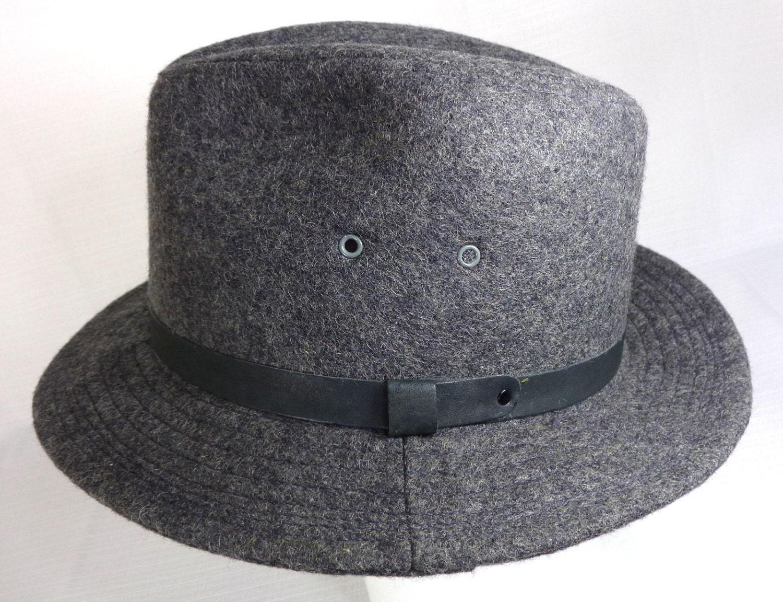 a7b16fd4a4123 Vintage Woolrich Men s Fedora Hat Union Made USA