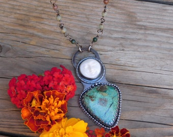 Moon Rise Goddess Necklace