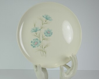 Vintage Even Yours Boutonniere Taylor Smith & Taylor Dinner Plate True Underglaze Oven Proof USA 10''