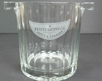 Seau à Champagne Français MOËT & CHANDON seau à glace Moet et Chandon petite Licorelle Petite Petillante