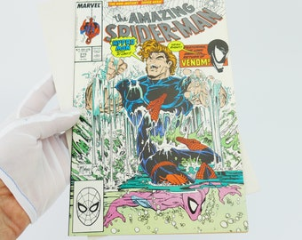 Vintage The Amazing Spiderman 315 Great CONDITION  Venom Appearance NM Comic Book BD 80s