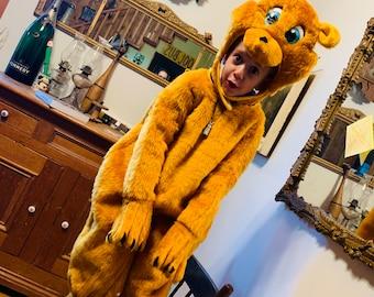Vintage 1970 Retro Rubies costume Bear Beaver Rat Squirrel Costume Halloween Suit Size 2-4 toddler