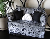 Items Similar To Contemporary Chic Tissue Box Couch Cover