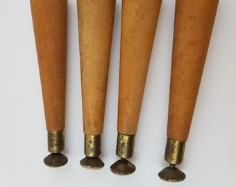 Wood Furniture Legs Etsy