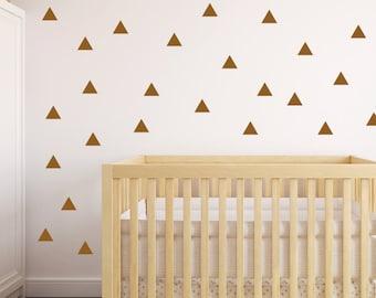 Triangle Wall Decal, Triangle Wall Decals, Wall Decals, Triangle Decal, Triangle Stickers, Nursery Wall Decal, Wall Stickers, Pattern Decal