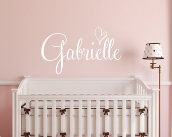 name wall decal etsy rh etsy com