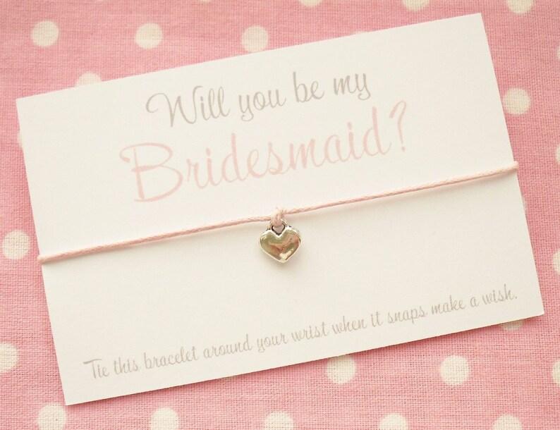 Will You Be My Bridesmaid Chief Bridesmaid Maid Of Honour image 0