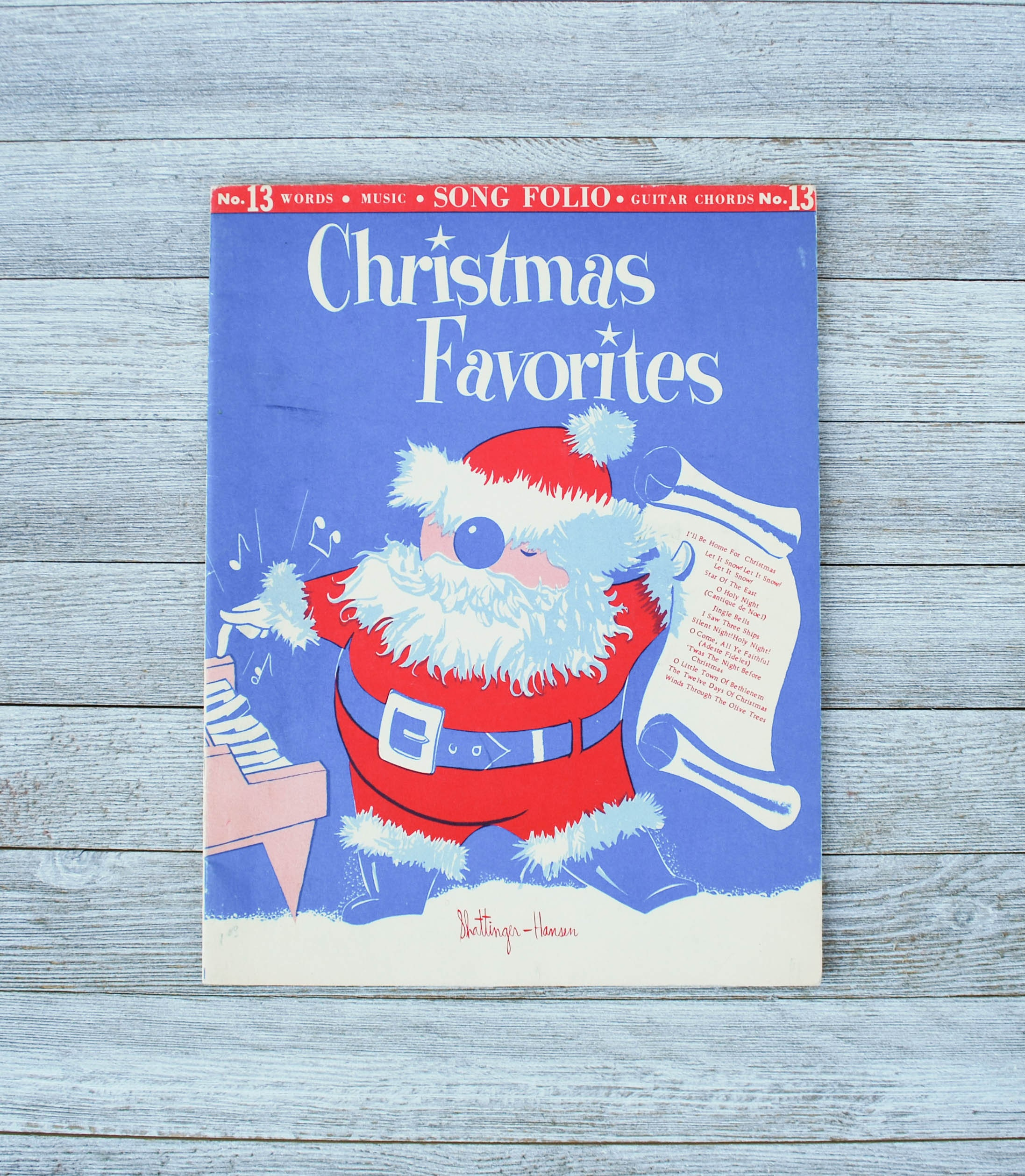 Christmas Favorites Song Folio Guitar Chords Etsy