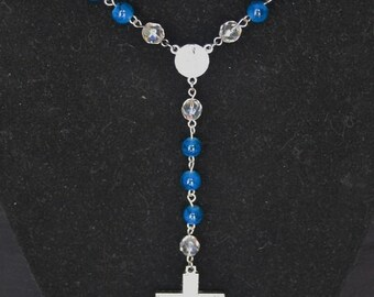 Hand crafted Rosary Style Necklace