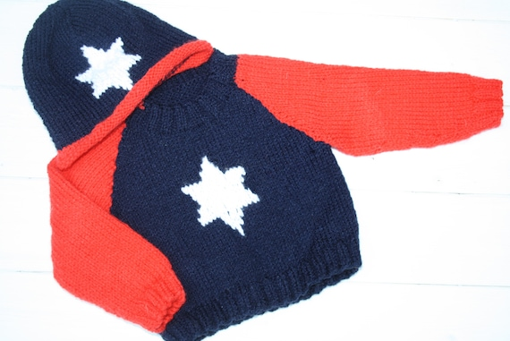 fb7d5e7f0 Hand knitted baby sweater and hat    Clothing sets    Knits
