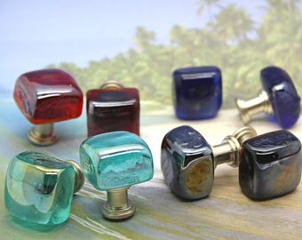 Quick View. More Colors. Knobs, Glass Cube Knobs, Cabinet ...