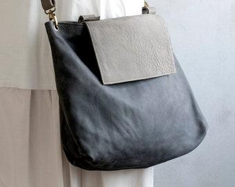 Leather Tote Bag ,Handmade Leather Purse Bag, Tote Bag , Large Leather Bag, Women Leather Bag