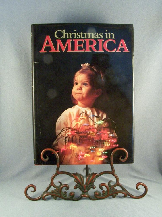 Christmas In America Book.Christmas In America Coffee Table Book