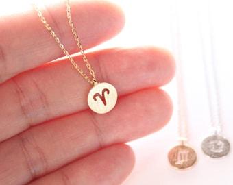Zodiac necklace | Etsy