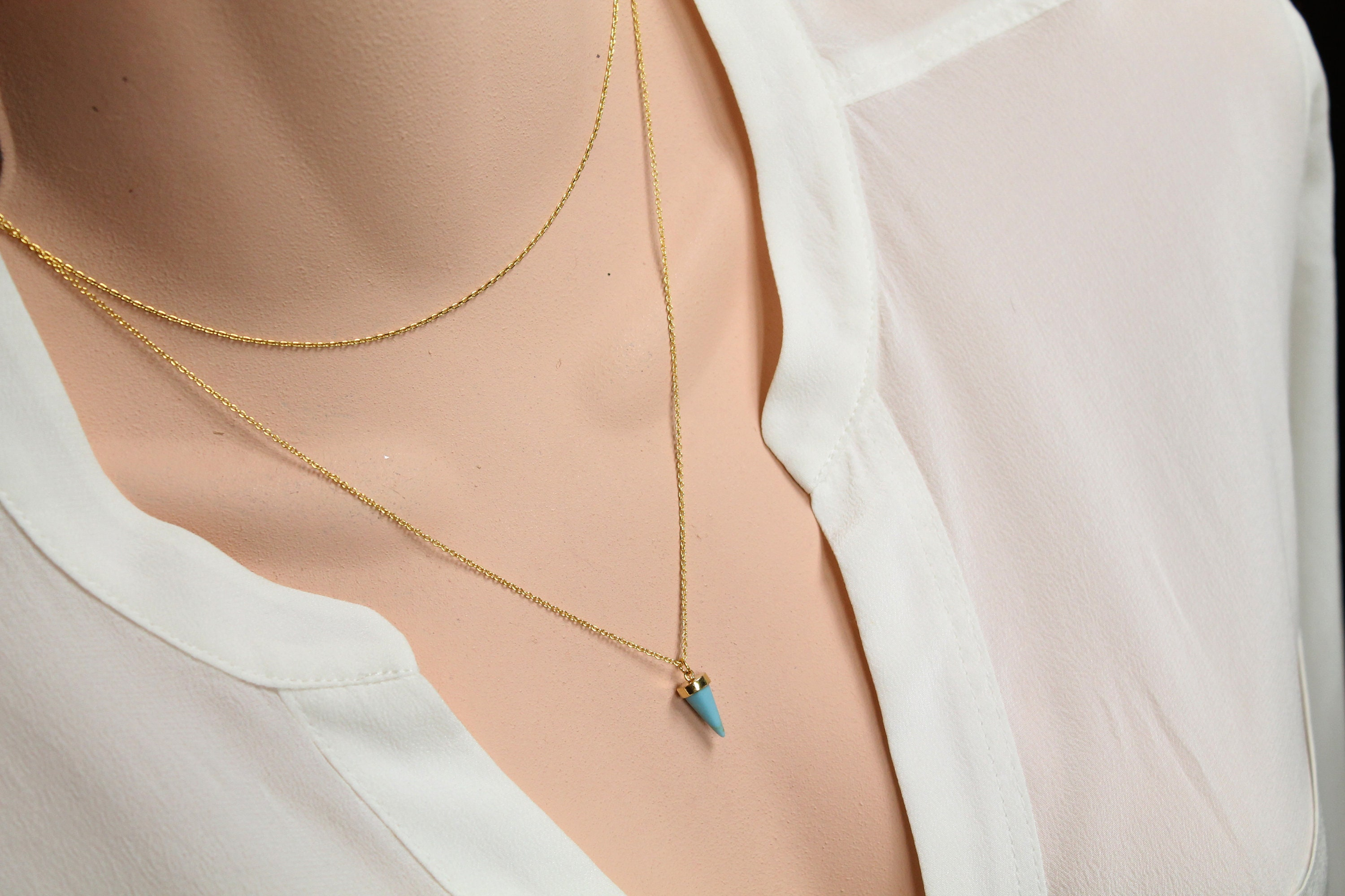 Jewels Obsession Swimmer Necklace 14K Rose Gold-plated 925 Silver Swimmer Pendant with 16 Necklace