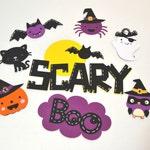 Set of 8 Halloween Die Cuts