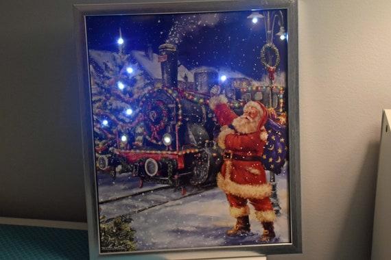 image 0 - Lighted Train Christmas Decoration