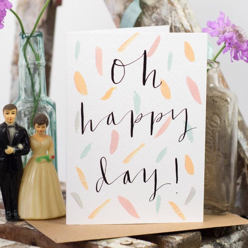 weddinganniversarycelebration card Oh Happy Day