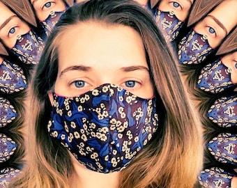 Handmade Fabric Mask - Two Layers